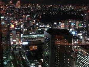 Night Scene of Shinjuku