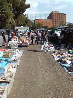 Yoyogi Park - Flea Market