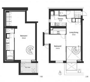 Apartments Nishi-azabu Kasumicho - 104