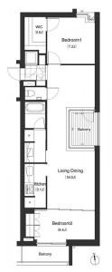 Apartments Nishi-azabu Kasumicho - 201