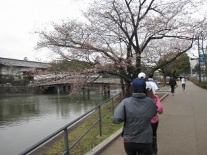 Running around the Imperial Palace