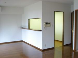 Towa Akasaka Apartment - Living Dining Room