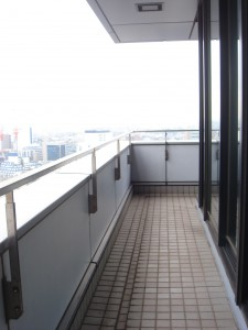 Shibuya Infos Tower Heights - Balcony