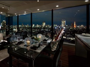 La Tour Shibuya - Living Dining Room