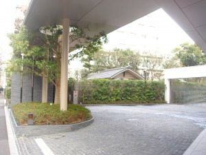 Nogizaka Park House - Entrance