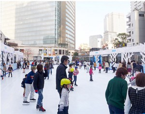 Ice Skating at Akasaka Sacas