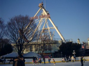 Amusement Park skating at Toshimaen